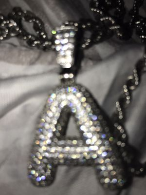Sterling Silver A Chain for Sale in Detroit, MI