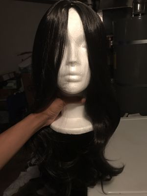 Short HUMAN HAIR wig with elastic band for Sale in Elk Grove, CA