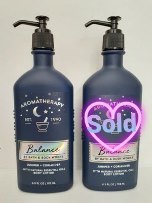BATH & BODY WORKS AROMATHERAPY BALANCE LOTION for Sale in Los Angeles, CA