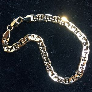 14K GOLD MARINER BRACELET MADE IN ITALY for Sale in Beverly Hills, CA