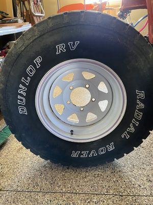 4 - Tires, Wagon Wheels and lug nuts for Sale in Quarryville, PA