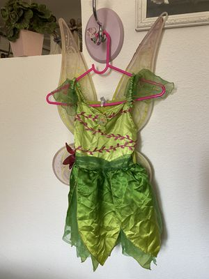 Tinkerbell with wings costume for Sale in Santa Ana, CA