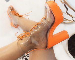 Orange Lace Up Heels for Sale in Lexington, KY