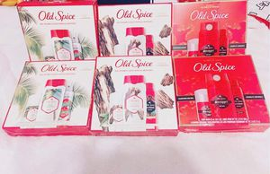 Old spice gift sets for Sale in Highland, CA