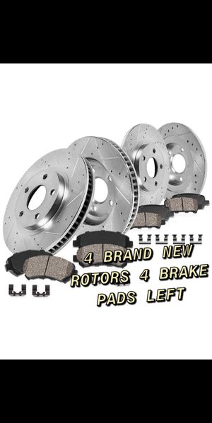 5X100 BRAND NEW ROTORS & 4 BRAKE PADS LEFT for Sale in Windsor, CT