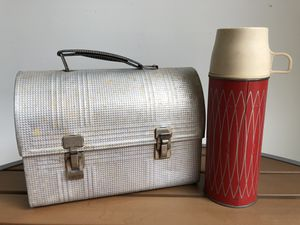 Antique Coal Miner's Lunch Box and Thermos for Sale in Raleigh, NC