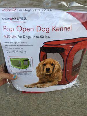 Pop Open Travel Dog Kennel for Sale in Moreno Valley, CA