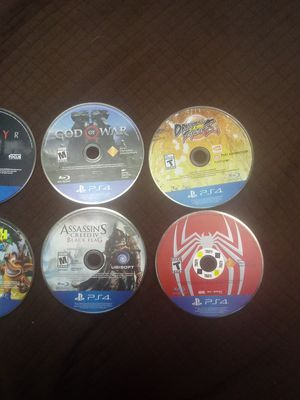 Ps4 games i can do 120 to 100 for Sale in Salt Lake City, UT