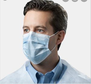 Tronex 5040B – Blue Procedure Face Mask With Earloops, Medical Grade for Sale in Las Vegas, NV