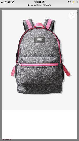 Victoria secret pink grey and pink backpack for Sale in Montebello, CA