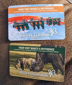 Busch Gardens Tampa Florida for Sale in West Palm Beach, FL