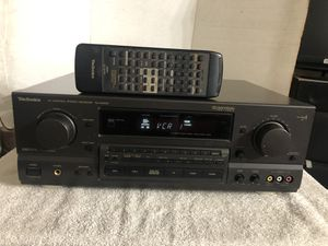 Technics SA-GX650 AV Control Stereo Receiver With Remote 125 WPC . Made In Japan for Sale in San Jose, CA