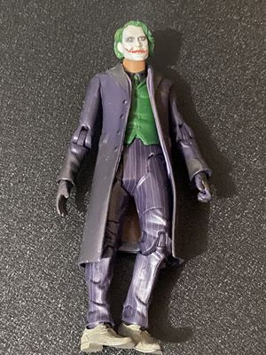 "2008 MATTEL DC COMICS DARK KNIGHT MOVIE MASTERS JOKER 6"" LOOSE ACTION FIGURE for Sale in Falls Church, VA"