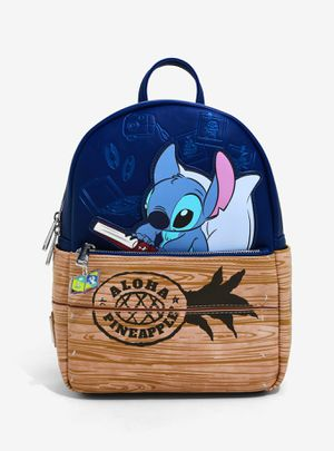 DISNEY LOUNGEFLY LILO & STITCH ALOHA CRATE MINI BACKPACK for Sale in Montebello, CA