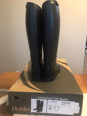 Dublin tall boots (Child size 3) for Sale in Virginia Beach, VA
