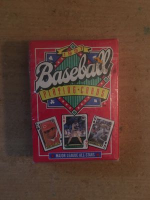MLB vintage playing baseball cards unopened for Sale in Littleton, CO