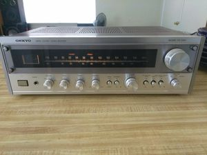 Onkyo Silver Face Receiver. $100 for Sale in Oakdale, CA