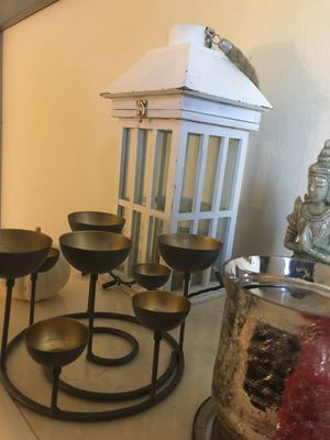 8 piece Candle Holder for Sale in Denver, CO