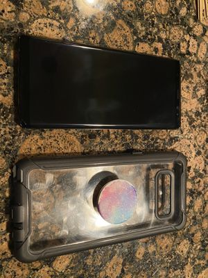 Samsung Galaxy Note 8 w/Case for Sale in Puyallup, WA