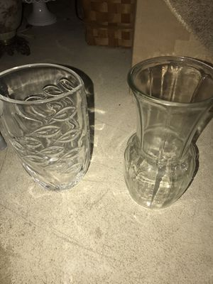Glass flower vases for Sale in Hilliard, OH