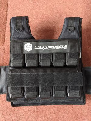 NEW 63LB Weight Vest for Sale in Tacoma, WA