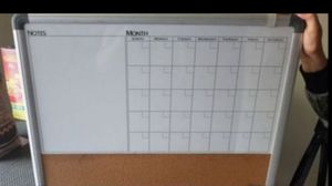 Calendar/Reminder White Board for Sale in Irwindale, CA