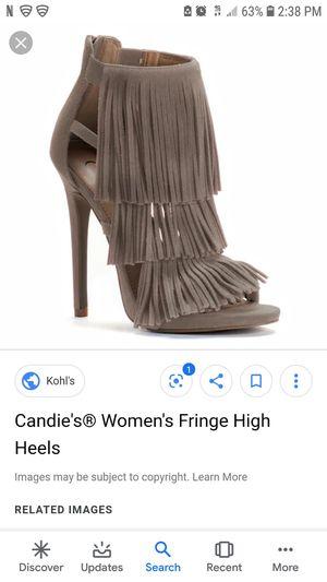Fringe Heel Sandal for Sale in Oregon City, OR