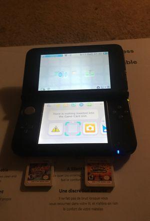 Nintendo 3ds Xl W/ Pokémon Y& Pokémon Ultra Sun for Sale in Lithia Springs, GA