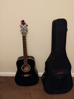 Acoustic Guitar and Gig bag with picks for Sale in Cartersville, GA