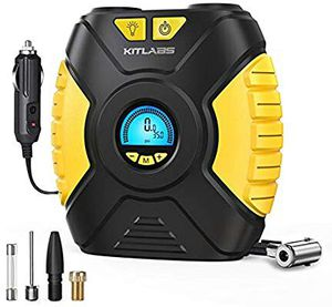 12V DC Digital Tire Inflator, Portable Air Compressor Pump for Car Tire,Auto Tire Pump with LED Light, Digital Pressure Gauge for Car for Sale in Grand Prairie, TX