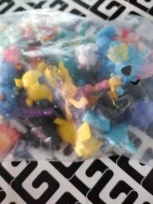 (LOT 1) 24 Factory Sealed Collectible Pokemon Mini Figure Pikachu Miniture Action Toys Figurines for Sale in West Covina, CA