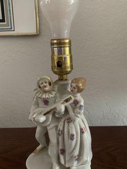 Antique Porcelain Figurine Lamp for Sale in Palo Alto,  CA