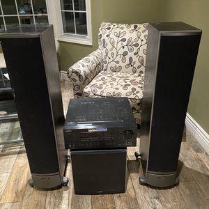 Onkyo And Polk Audio Sound System for Sale in Orange, CA