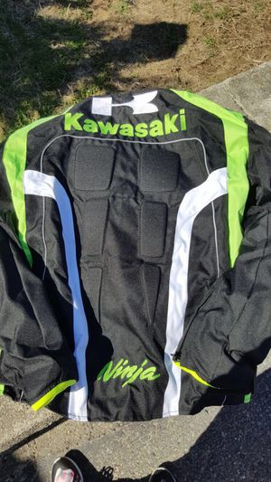 Wholesale Kawasaki Motorcycle clothing Race suit Racing Jacket removable for Sale in Cumberland, RI
