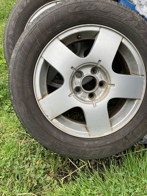 VW rims- Goodyear tires for Sale in Aberdeen, MD