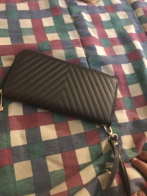 Black Wallet With Strap for Sale in Germantown, MD