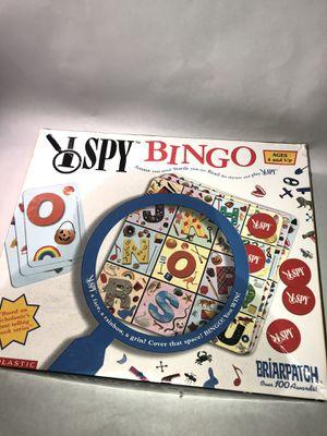 I Spy Bingo Board Game - Fast Shipping for Sale in Decatur, GA
