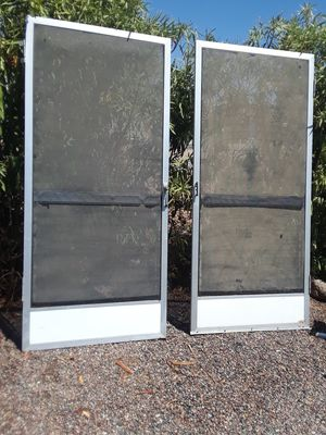 2 SCREEN DOORS for Sale in Tempe, AZ