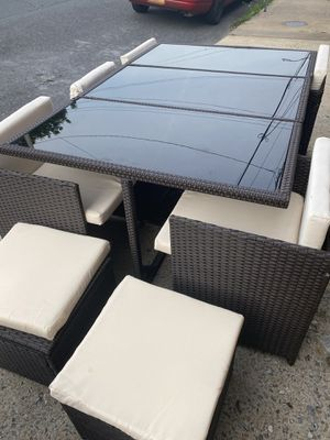 11 pieces outdoor dinning set for Sale in Frackville, PA