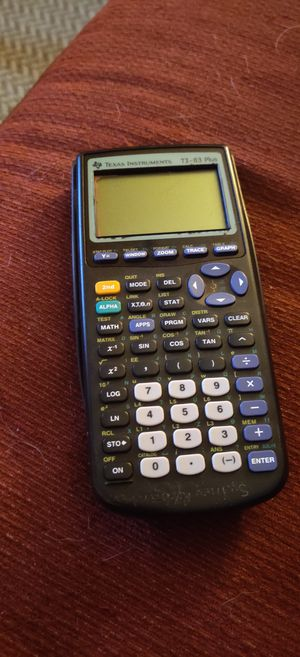 TI-83 Plus for Sale in Denton, TX