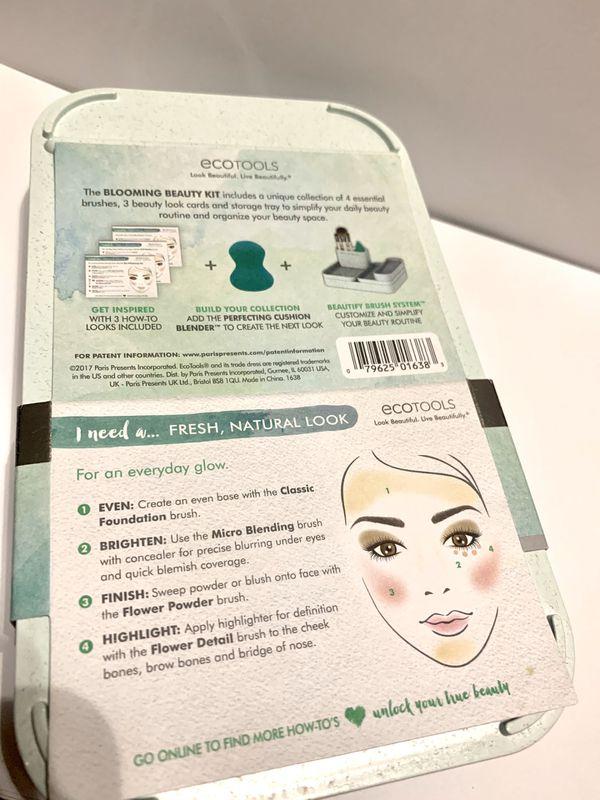 Eco tools Blooming makeup brush set