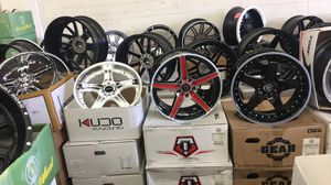 BRAND NEW 18 INCH WHEELS AND TIRES FOR SALE STARTING PRICE $899 AND UP for Sale in Tacoma, WA
