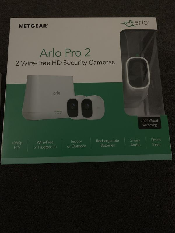 Arlo pro 2 ( wire free camera security systems)