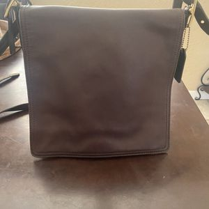 Brown Leather Coach Purse for Sale in Scottsdale, AZ