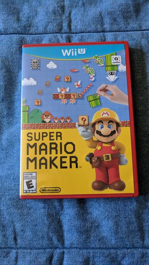 Mario Maker for Nintendo Wii U for Sale in Meridian, ID