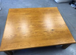 Oversized Coffee Table for Sale in Apache Junction, AZ