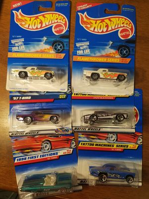 Hot Wheels T-Birds lot of 6 for Sale in Newburgh, IN