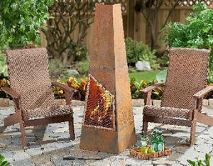 Freestanding Wood Burning Chiminea Fireplace Patio Garden Pool Heater Entertain for Sale in Seattle, WA