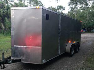 7x16 enclosed trailer for Sale in Dover, FL