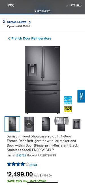 Samsung 4 Door Refrigerator for Sale in Upper Marlboro, MD
